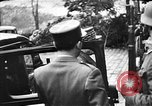Image of Adolf Hitler shaking hands with Petain in Montoire France, 1940, second 15 stock footage video 65675053449