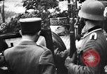 Image of Adolf Hitler shaking hands with Petain in Montoire France, 1940, second 16 stock footage video 65675053449