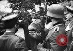 Image of Adolf Hitler shaking hands with Petain in Montoire France, 1940, second 18 stock footage video 65675053449