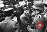 Image of Adolf Hitler shaking hands with Petain in Montoire France, 1940, second 19 stock footage video 65675053449