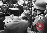Image of Adolf Hitler shaking hands with Petain in Montoire France, 1940, second 20 stock footage video 65675053449