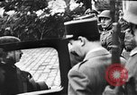 Image of Adolf Hitler shaking hands with Petain in Montoire France, 1940, second 21 stock footage video 65675053449