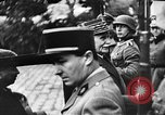 Image of Adolf Hitler shaking hands with Petain in Montoire France, 1940, second 22 stock footage video 65675053449