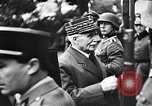 Image of Adolf Hitler shaking hands with Petain in Montoire France, 1940, second 23 stock footage video 65675053449