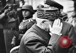 Image of Adolf Hitler shaking hands with Petain in Montoire France, 1940, second 28 stock footage video 65675053449