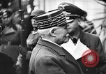 Image of Adolf Hitler shaking hands with Petain in Montoire France, 1940, second 29 stock footage video 65675053449
