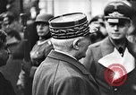 Image of Adolf Hitler shaking hands with Petain in Montoire France, 1940, second 30 stock footage video 65675053449