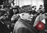 Image of Adolf Hitler shaking hands with Petain in Montoire France, 1940, second 31 stock footage video 65675053449