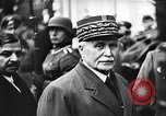 Image of Adolf Hitler shaking hands with Petain in Montoire France, 1940, second 32 stock footage video 65675053449