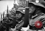 Image of Adolf Hitler shaking hands with Petain in Montoire France, 1940, second 33 stock footage video 65675053449