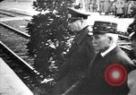 Image of Adolf Hitler shaking hands with Petain in Montoire France, 1940, second 36 stock footage video 65675053449