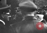 Image of Adolf Hitler shaking hands with Petain in Montoire France, 1940, second 44 stock footage video 65675053449