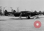 Image of P-61Black Widow aircraft of 422nd Night Fighter Squadron United States USA, 1944, second 13 stock footage video 65675053488