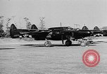 Image of P-61Black Widow aircraft of 422nd Night Fighter Squadron United States USA, 1944, second 14 stock footage video 65675053488