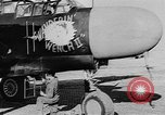 Image of P-61Black Widow aircraft of 422nd Night Fighter Squadron United States USA, 1944, second 18 stock footage video 65675053488
