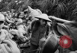 Image of Chinese refugees Liuchow China, 1944, second 55 stock footage video 65675053491