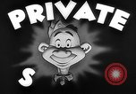 Image of Private Snafu United States USA, 1943, second 4 stock footage video 65675053497