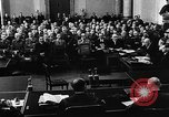 Image of Josef Wirmer on trial in July 20 plot against Hitler Germany, 1944, second 10 stock footage video 65675053508
