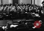 Image of Josef Wirmer on trial in July 20 plot against Hitler Germany, 1944, second 11 stock footage video 65675053508