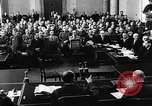 Image of Josef Wirmer on trial in July 20 plot against Hitler Germany, 1944, second 13 stock footage video 65675053508
