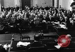 Image of Josef Wirmer on trial in July 20 plot against Hitler Germany, 1944, second 14 stock footage video 65675053508