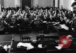 Image of Josef Wirmer on trial in July 20 plot against Hitler Germany, 1944, second 15 stock footage video 65675053508