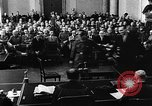 Image of Josef Wirmer on trial in July 20 plot against Hitler Germany, 1944, second 17 stock footage video 65675053508
