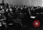 Image of Josef Wirmer on trial in July 20 plot against Hitler Germany, 1944, second 19 stock footage video 65675053508