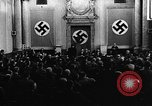 Image of Josef Wirmer on trial in July 20 plot against Hitler Germany, 1944, second 23 stock footage video 65675053508