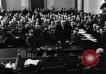 Image of Josef Wirmer on trial in July 20 plot against Hitler Germany, 1944, second 29 stock footage video 65675053508