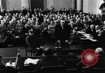 Image of Josef Wirmer on trial in July 20 plot against Hitler Germany, 1944, second 31 stock footage video 65675053508