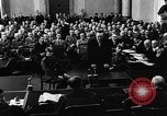 Image of Josef Wirmer on trial in July 20 plot against Hitler Germany, 1944, second 32 stock footage video 65675053508