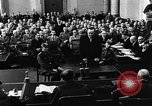 Image of Josef Wirmer on trial in July 20 plot against Hitler Germany, 1944, second 33 stock footage video 65675053508