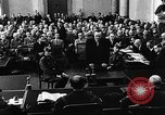 Image of Josef Wirmer on trial in July 20 plot against Hitler Germany, 1944, second 35 stock footage video 65675053508