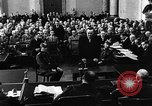 Image of Josef Wirmer on trial in July 20 plot against Hitler Germany, 1944, second 36 stock footage video 65675053508