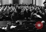Image of Josef Wirmer on trial in July 20 plot against Hitler Germany, 1944, second 37 stock footage video 65675053508