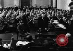 Image of Josef Wirmer on trial in July 20 plot against Hitler Germany, 1944, second 38 stock footage video 65675053508