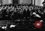 Image of Josef Wirmer on trial in July 20 plot against Hitler Germany, 1944, second 39 stock footage video 65675053508
