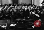 Image of Josef Wirmer on trial in July 20 plot against Hitler Germany, 1944, second 40 stock footage video 65675053508