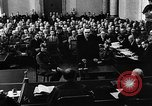 Image of Josef Wirmer on trial in July 20 plot against Hitler Germany, 1944, second 41 stock footage video 65675053508