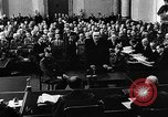 Image of Josef Wirmer on trial in July 20 plot against Hitler Germany, 1944, second 42 stock footage video 65675053508