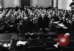 Image of Josef Wirmer on trial in July 20 plot against Hitler Germany, 1944, second 43 stock footage video 65675053508