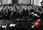 Image of Josef Wirmer on trial in July 20 plot against Hitler Germany, 1944, second 44 stock footage video 65675053508