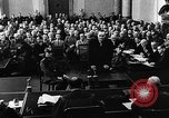 Image of Josef Wirmer on trial in July 20 plot against Hitler Germany, 1944, second 45 stock footage video 65675053508