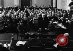 Image of Josef Wirmer on trial in July 20 plot against Hitler Germany, 1944, second 46 stock footage video 65675053508
