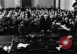 Image of Josef Wirmer on trial in July 20 plot against Hitler Germany, 1944, second 47 stock footage video 65675053508