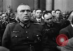 Image of Josef Wirmer on trial in July 20 plot against Hitler Germany, 1944, second 48 stock footage video 65675053508