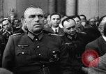 Image of Josef Wirmer on trial in July 20 plot against Hitler Germany, 1944, second 49 stock footage video 65675053508