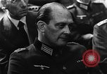 Image of Josef Wirmer on trial in July 20 plot against Hitler Germany, 1944, second 50 stock footage video 65675053508