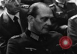 Image of Josef Wirmer on trial in July 20 plot against Hitler Germany, 1944, second 51 stock footage video 65675053508